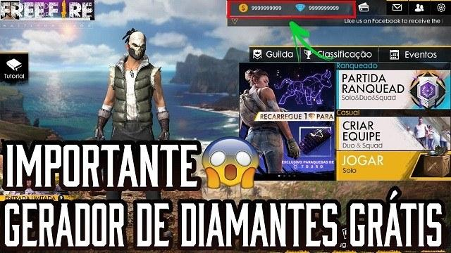 download free fire dinheiro e diamante infinito