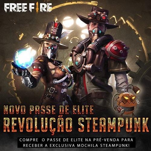 SteamPunk Free Fire