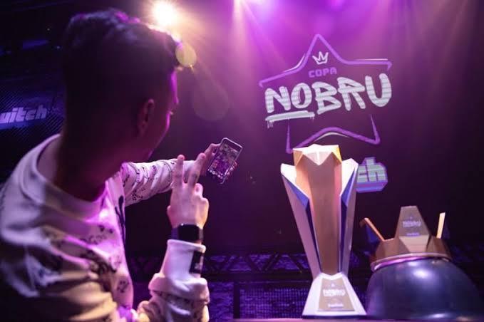 Nobru criador do Fluxo na season 2 da Copa Nobru - 2020