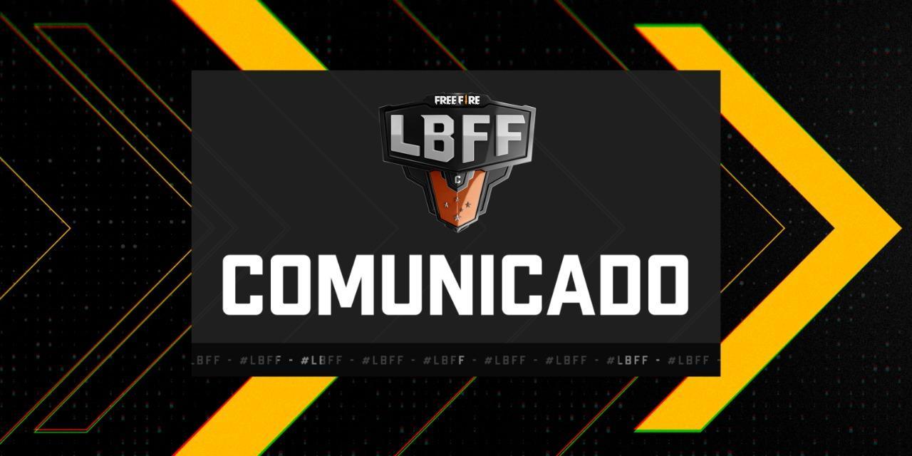 Comunicado BAZE fora da LBFF