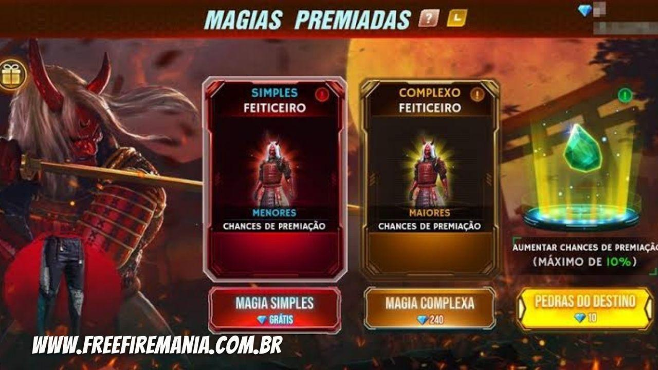 Magias Premiadas Free Fire
