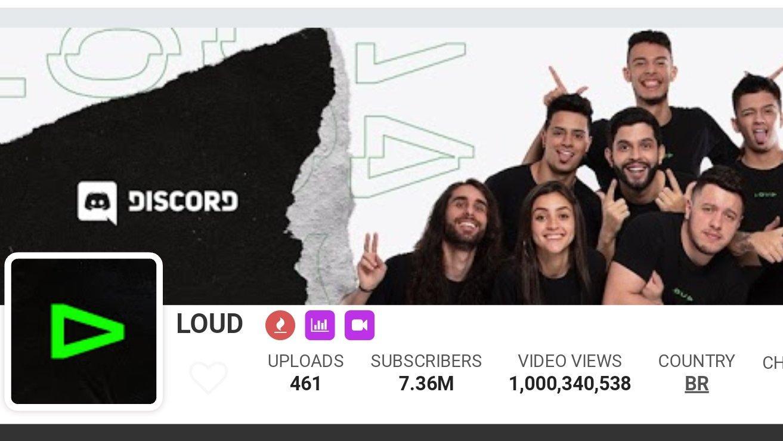 Loud alcança 1 bilhão de visualizações