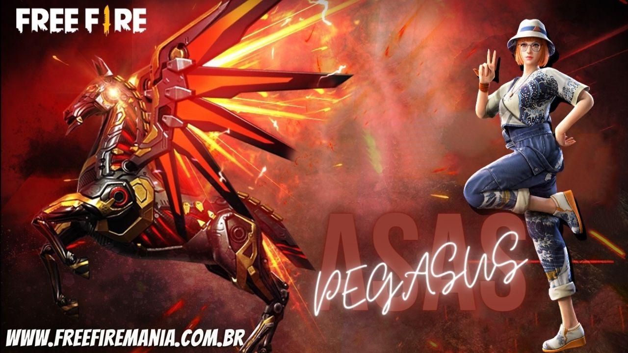 Asa-Delta Asas de Pegasus Free Fire