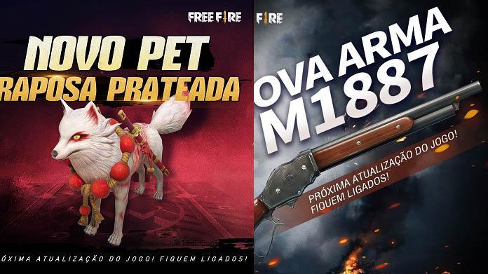 Manutenção do Free Fire Outubro 2019