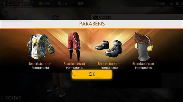 Pacote Breakdancer