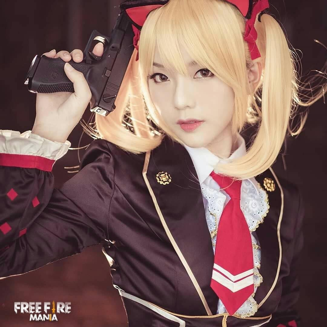 New Character Caroline In Real Life Free Fire Mania
