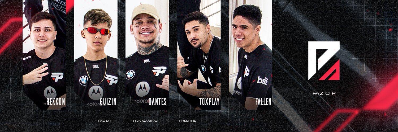Jogadores da Faz o P