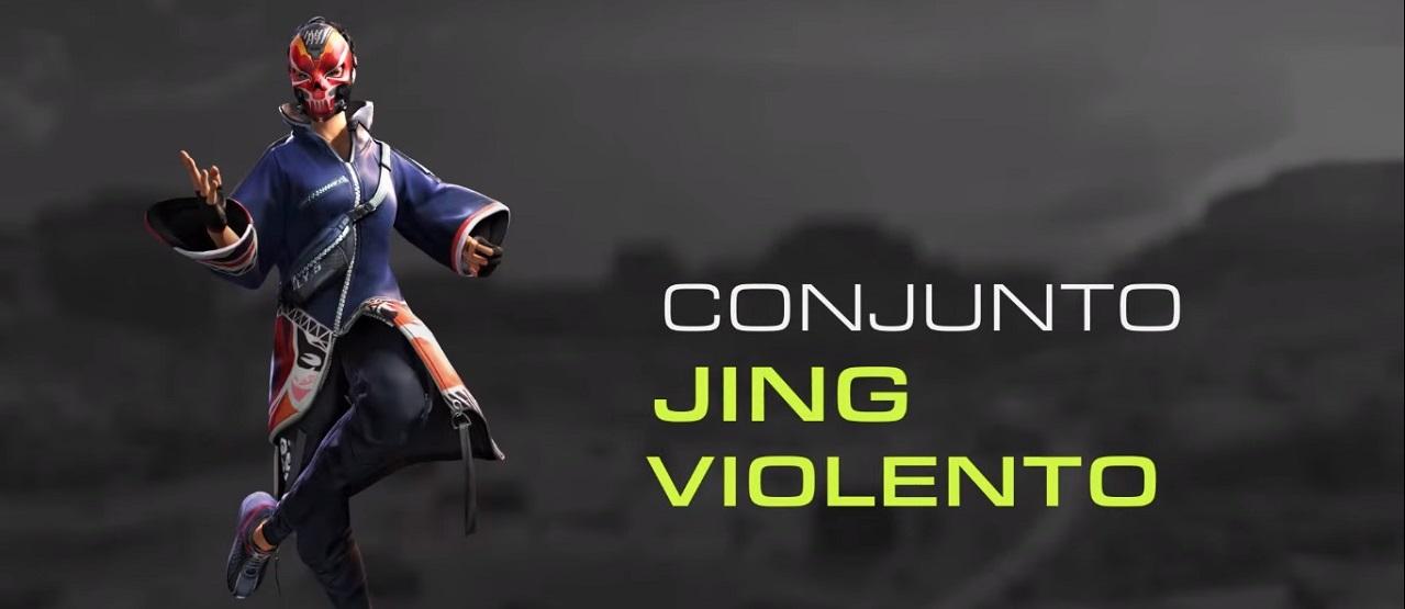 Incubadora Agosto 2021, Pacote Jing Violento