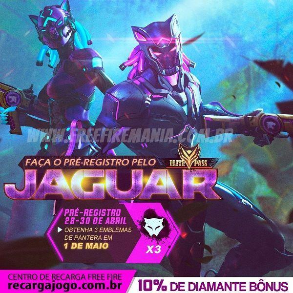 12º Passe de Elite Jaguar Free Fire