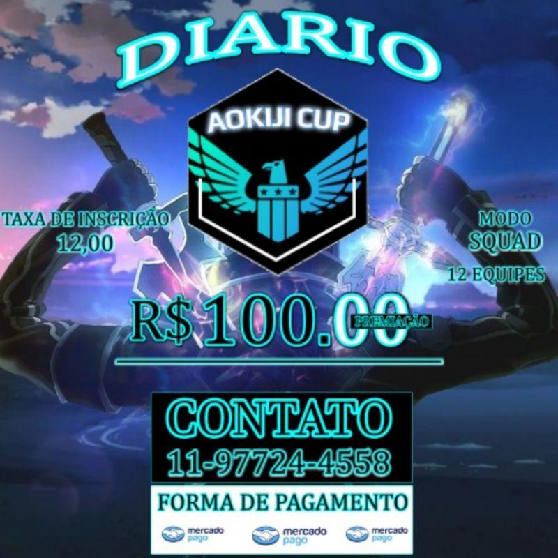 CAMPEONATO DIARIO (DOMINGO AS 22:00) 100$ PREMIAÇÃO. CAMP PAGO!!!