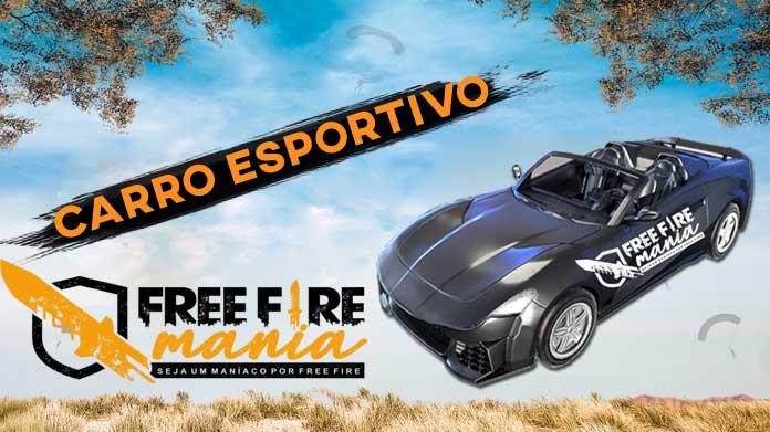 Carro Esportivo no Free Fire