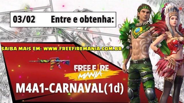 É amanhã! Faça Login e Receba Prêmios de Carnaval!