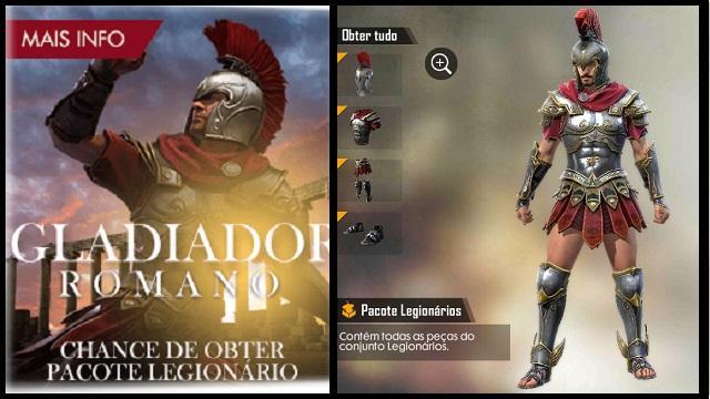 É Amanhã: Novo Sorte Royale Gladiador Romano