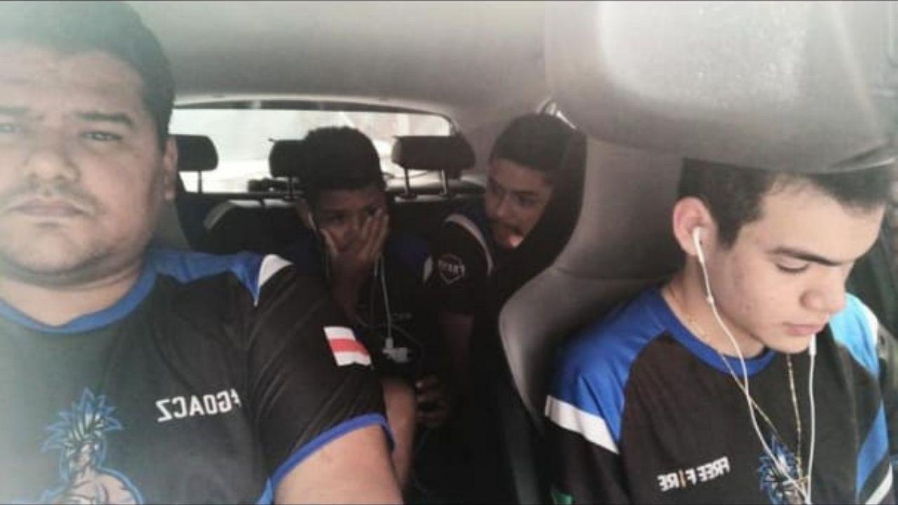 #forçaACZ: equipe amazonense perde acesso à internet e joga Grupo de Acesso da LBFF dentro de carro