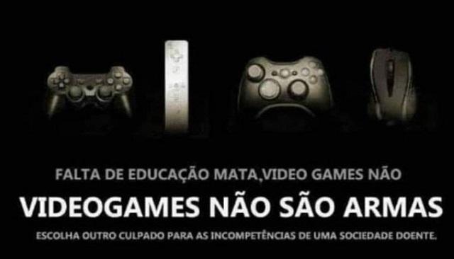 #Somos Gamers, Não Assassinos!