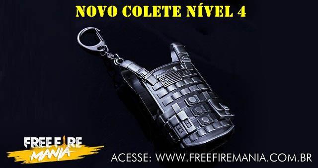 COLETE NÍVEL 4 AMANHÃ NO FREE FIRE