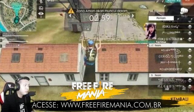 [VAZOU?] Portas que abrem e fecha nas Casas do Free Fire