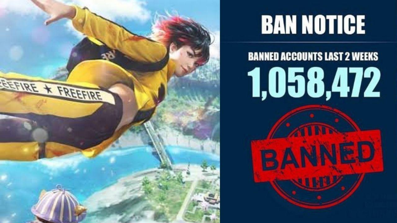 1.058.472 contas Free Fire banidas por uso de hack nas últimas duas semanas