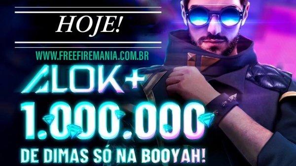 1 Milhão de Diamantes na Live do Dj Alok em Casa