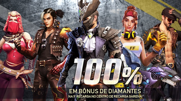 100% Bonus Reload Free Fire