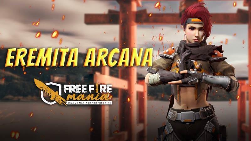 11 de Julho, novo Diamante Royale Eremita Arcana chega ao Free Fire