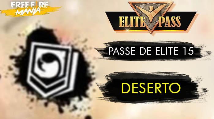 15º Passe de Elite, Tempestade de Areia - Agosto 2019