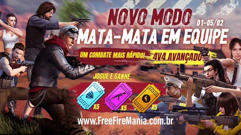 15 Tickets do Sorte Royale Grátis no Free Fire