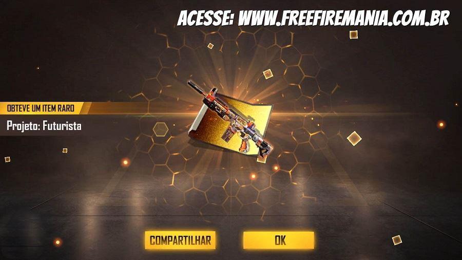 24 de Junho: Novo evento de Recarga da SCAR Titan chega ao Free Fire
