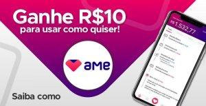 300 Diamantes grátis no Free Fire com o aplicativo AME Digital