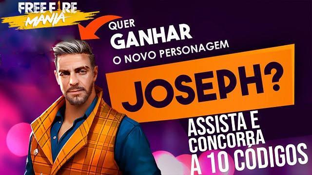 33 Códigos de Recompensas para Coletar o Joseph no Brasil