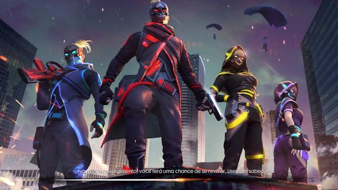 4 Novas Skins da Free Fire World Series
