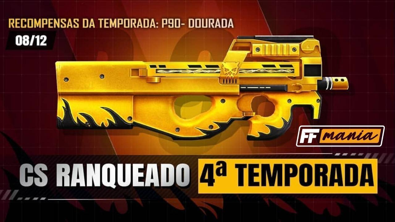 4ª Temporada do Contra Squad traz a P90 Dourada como recompensa