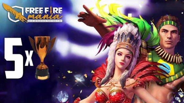Cinco vezes em que o Brasil foi o melhor do mundo no Free Fire