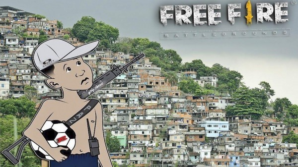 96% of young people up to 15 years old in the favelas dream of being recognized in Free Fire