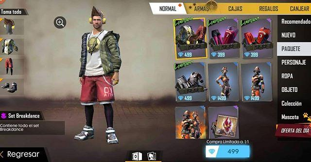 Garena Hears Us! Street Pack (BreakDancer) back!