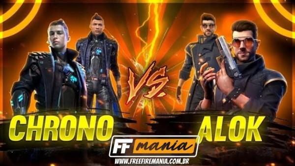As razões pelas quais Chrono é melhor do que Alok no Free Fire (FF)!