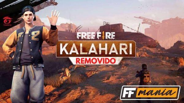 Adeus! Mapa Kalahari será removido das ranqueadas no Free Fire