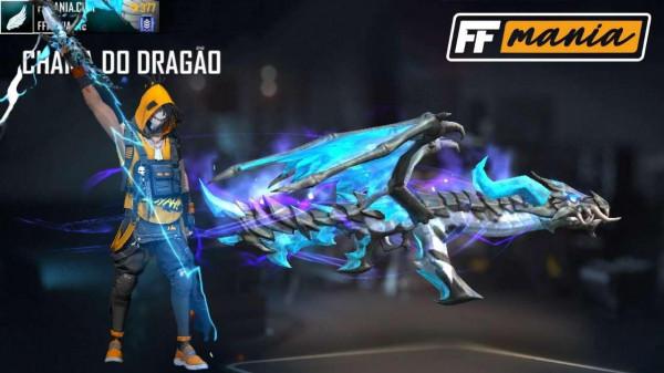 AK Chama do Dragão: como conseguir a nova skin evolutiva de arma do Free Fire