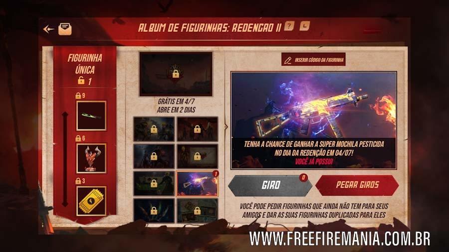Album Stiker Free Fire: Tukar dan lengkapi