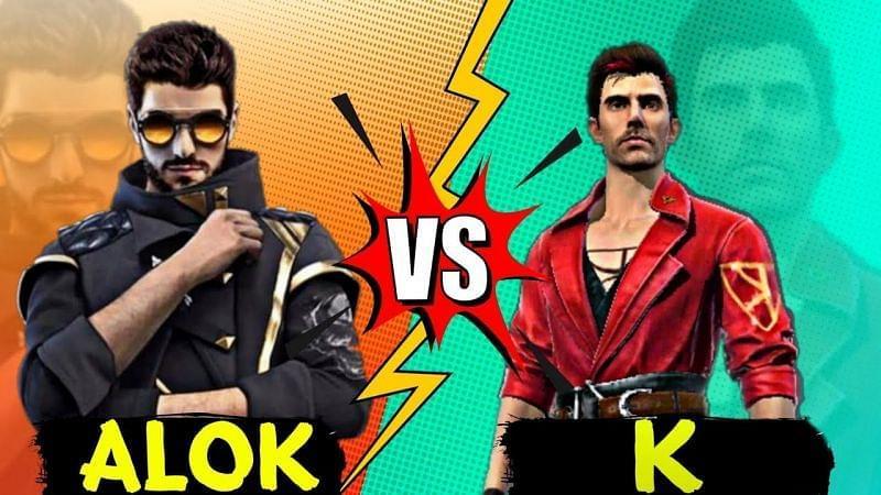 Alok x Kamir no Free Fire: veja qual o melhor, comparativo de habilidades