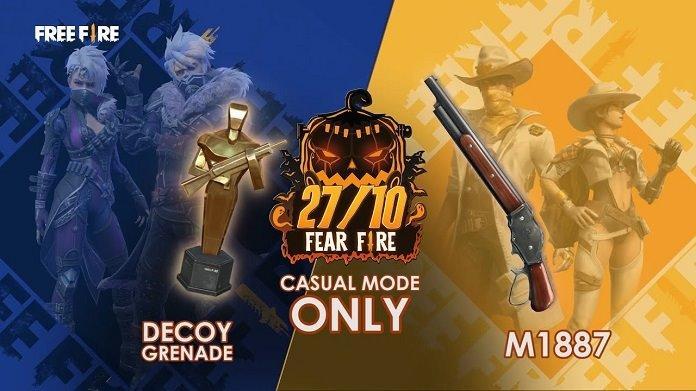 Besok: Senjata M1887 dan Kamuflase Granada Tersedia di Free Fire