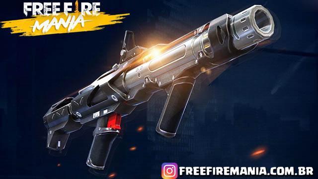 AMR: Nova Arma Anti Veículos no Free Fire