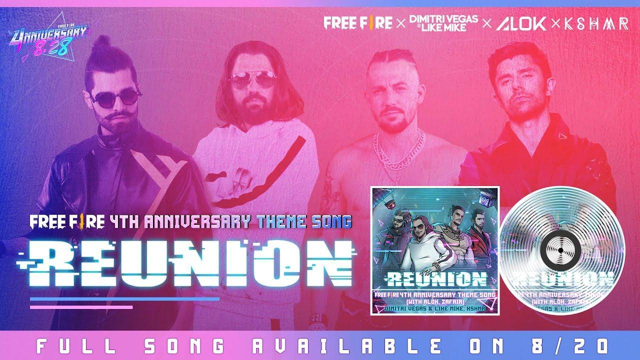 Aniversário Free Fire 2021 é celebrado com com os DJs Alok, KSHMR, Dimitri Vegas e Like Mike