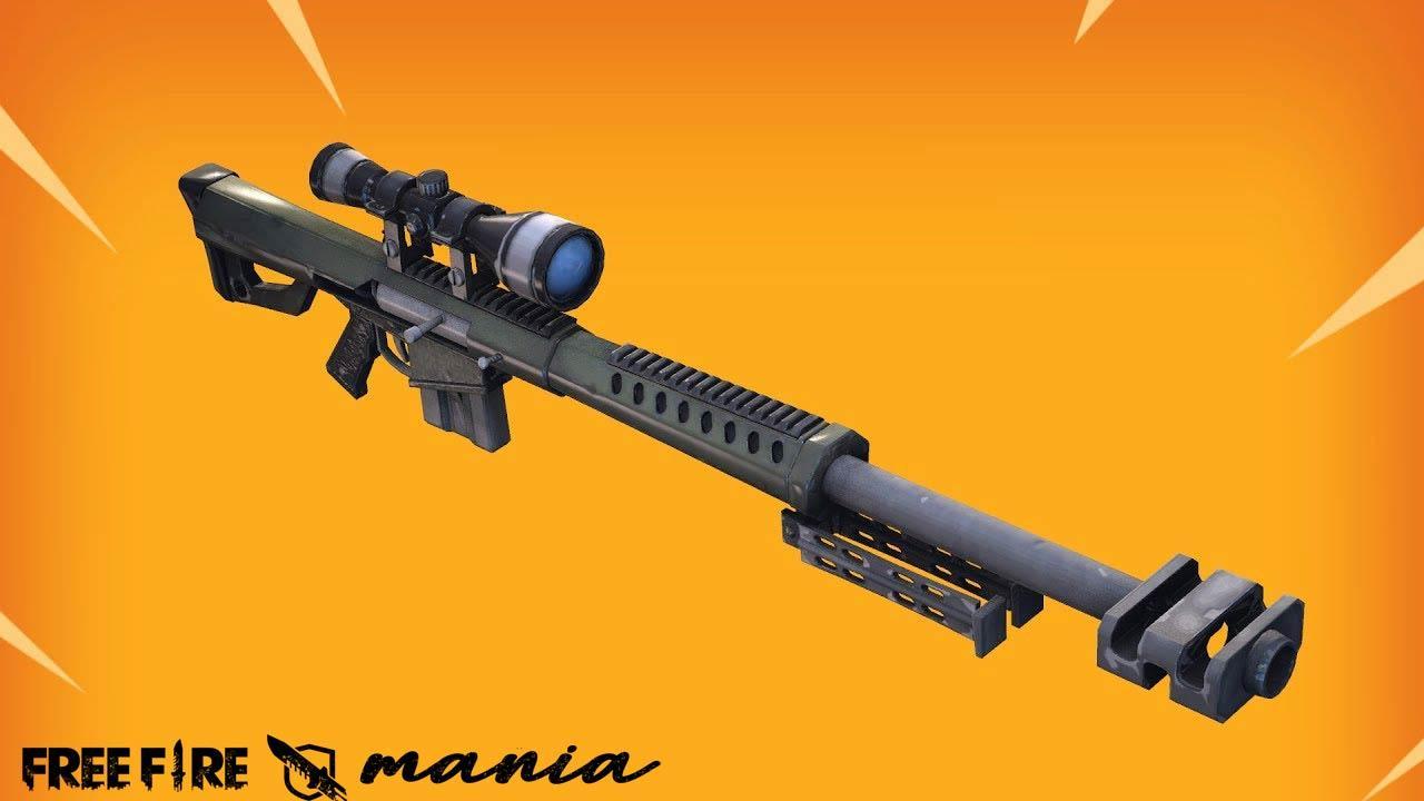 Arma Barrett, a nova Sniper do Free Fire vazou em vídeo da Garena