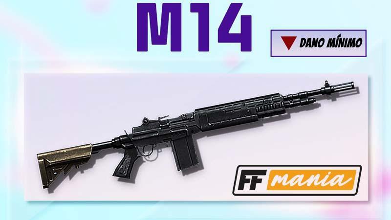 Arma M14 tem mudanças na atualização de Setembro/2020 do Free Fire