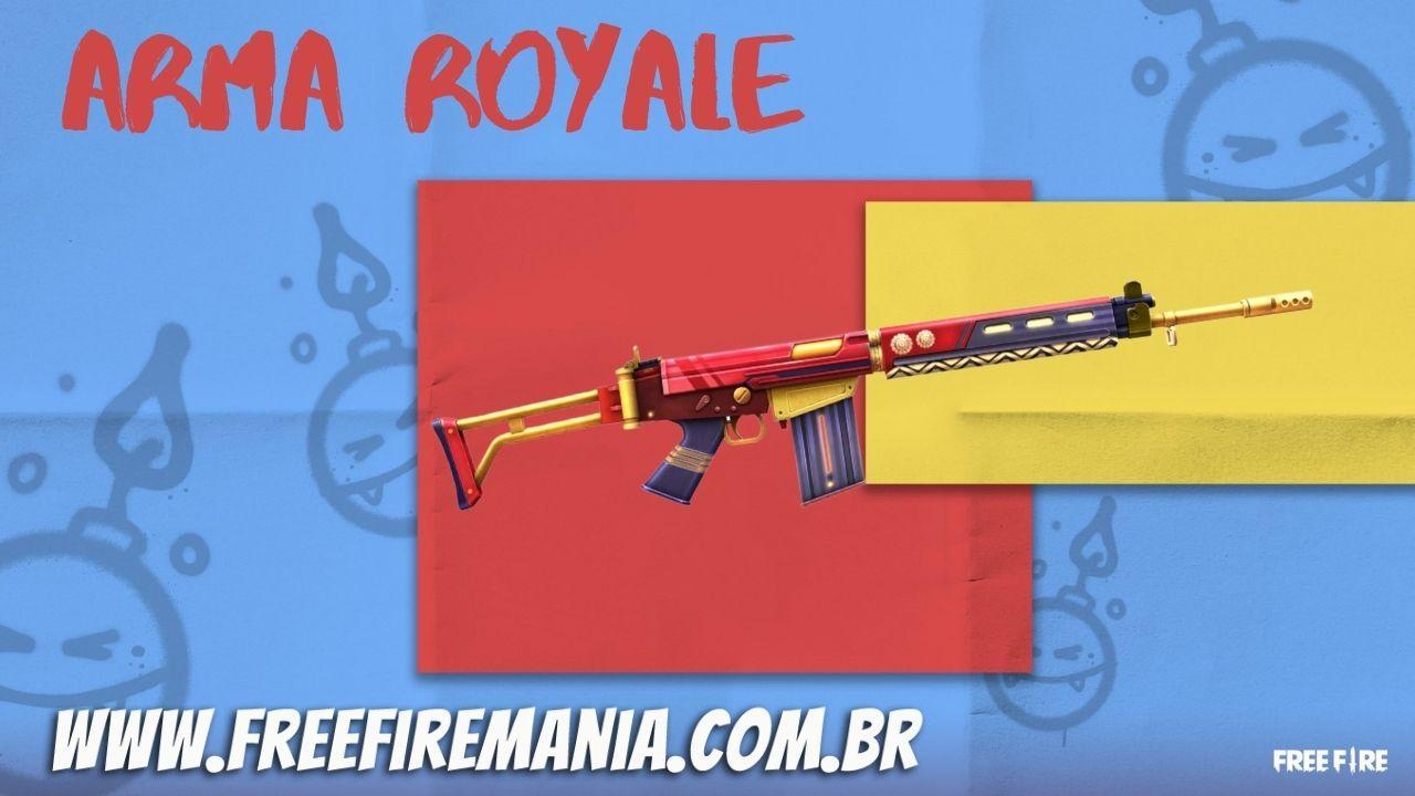 Free Fire Royale Weapon Mei 2021: Paral Persian Warriors akan menjadi skin roulette berikutnya