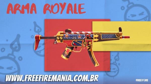 Arma Royale Free Fire: MP5 Quebra Nozes é a nova skin de Abril 2021, veja como conseguir