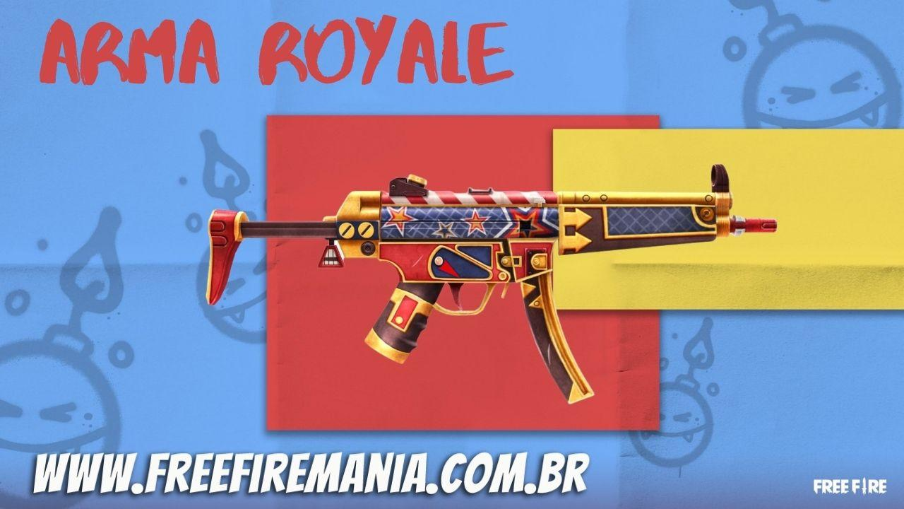 Royale Free Fire Weapon: Nutcracker MP5 es el nuevo skin para abril de 2021, mira cómo conseguirlo