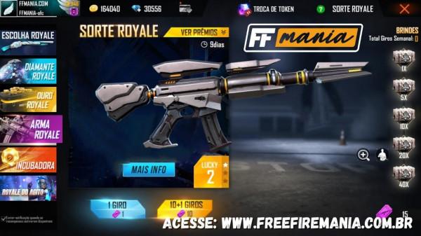 Arma Royale Free Fire: Skin da M4A1 Genos chega em 11 de Janeiro/2021
