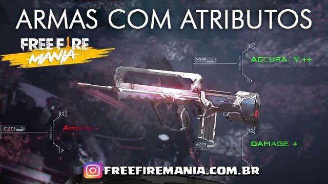 Armas com Atributos no Servidor Brasileiro